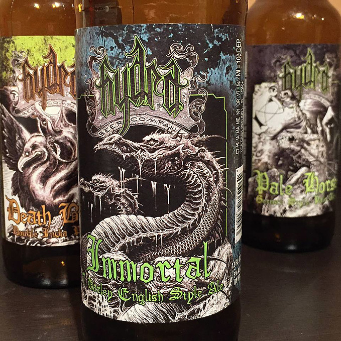 Hydra Beer Company Immortal