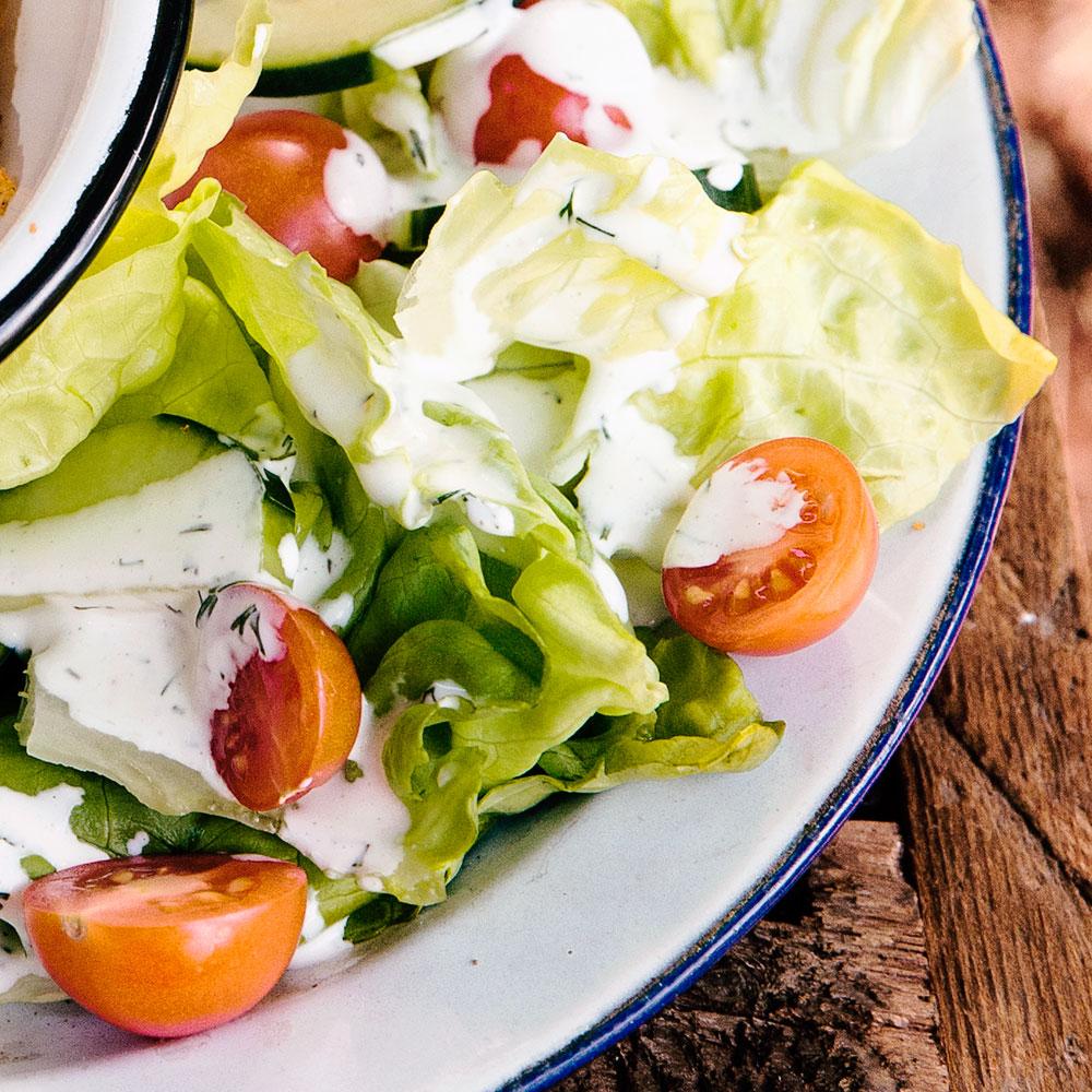 Hands on Salad