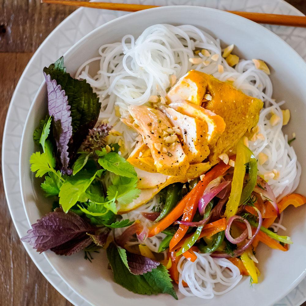 Hanoi Style Salmon Turmeric Dill