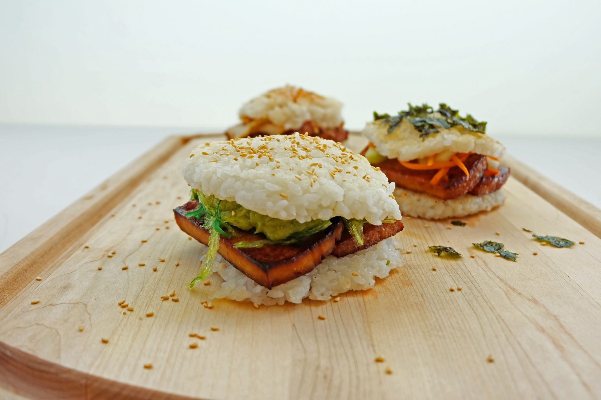 Try MyRecipes: Sushi Burgers