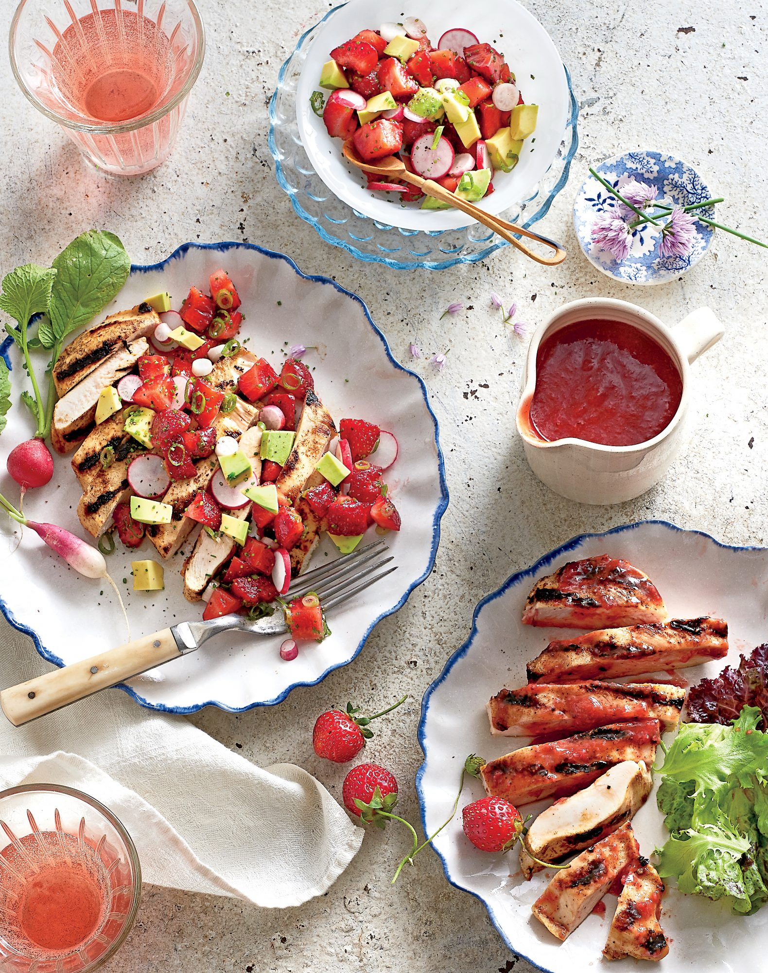 Tangy Strawberry BBQ Sauce