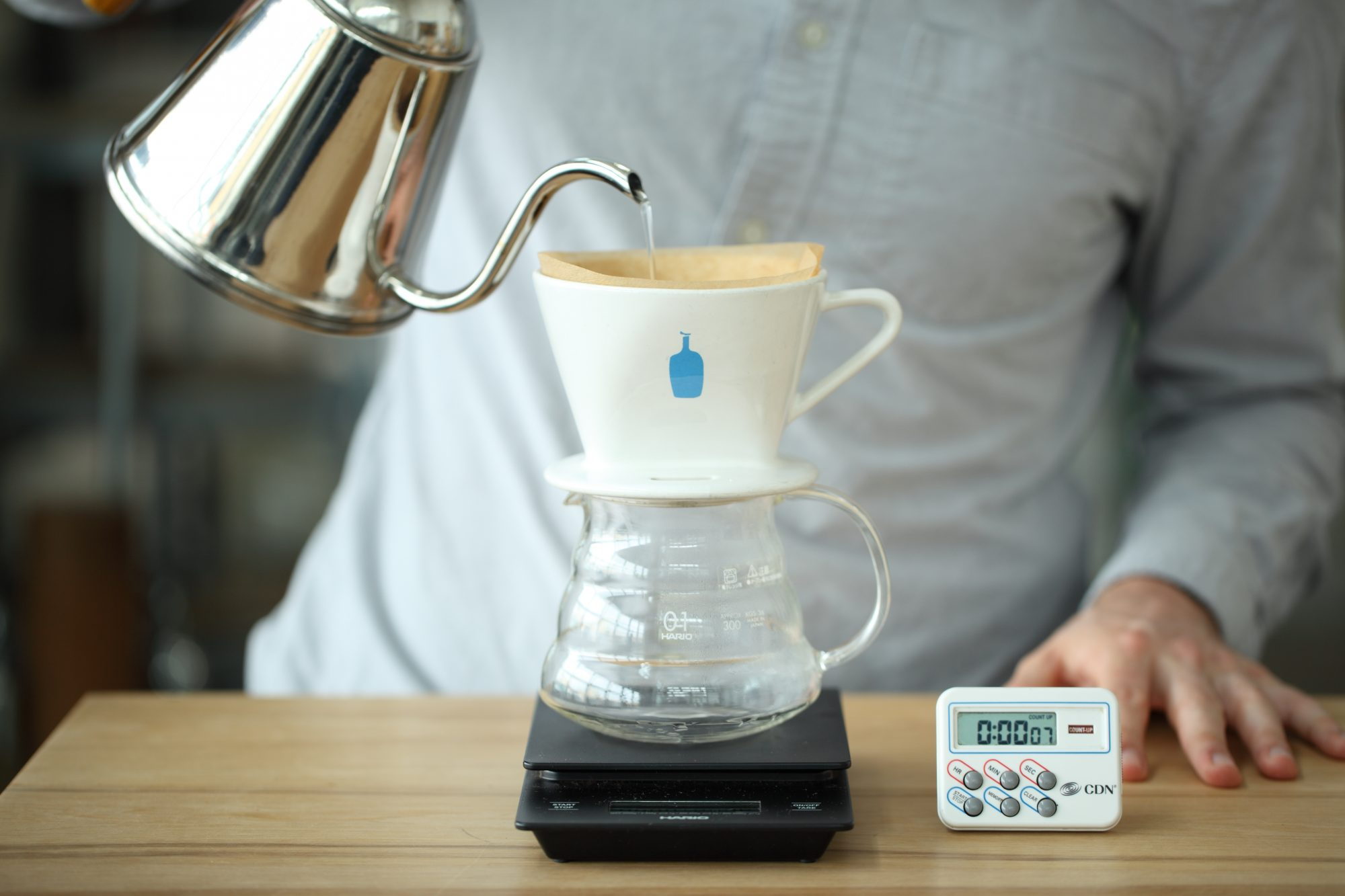 <p>Ceramic Pour-Over Coffee Dripper</p>