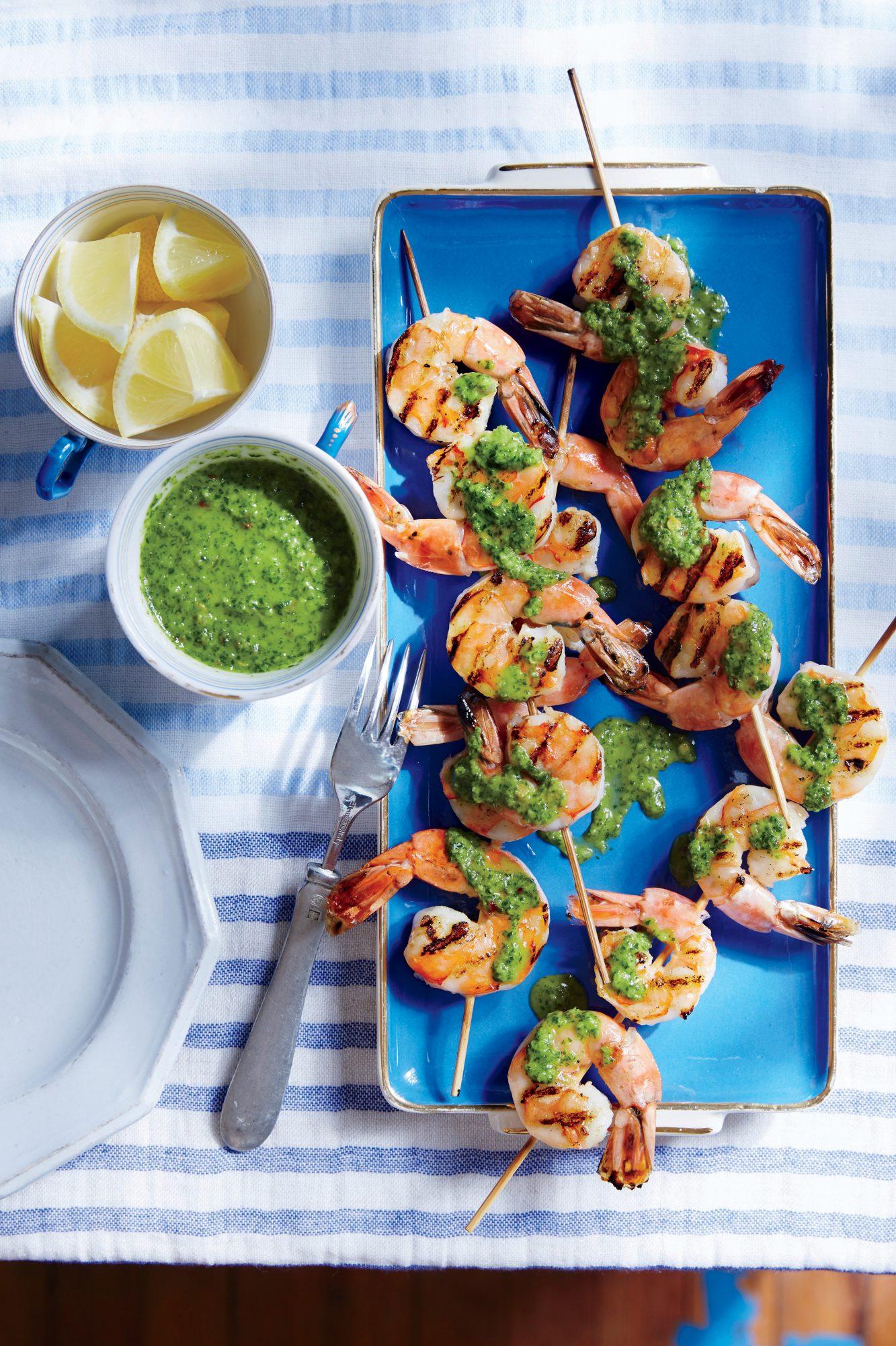 Chimichurri Shrimp