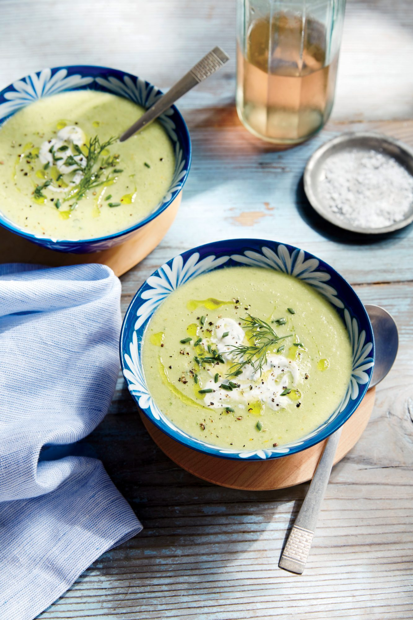Cucumber and Green Tomato Gazpacho