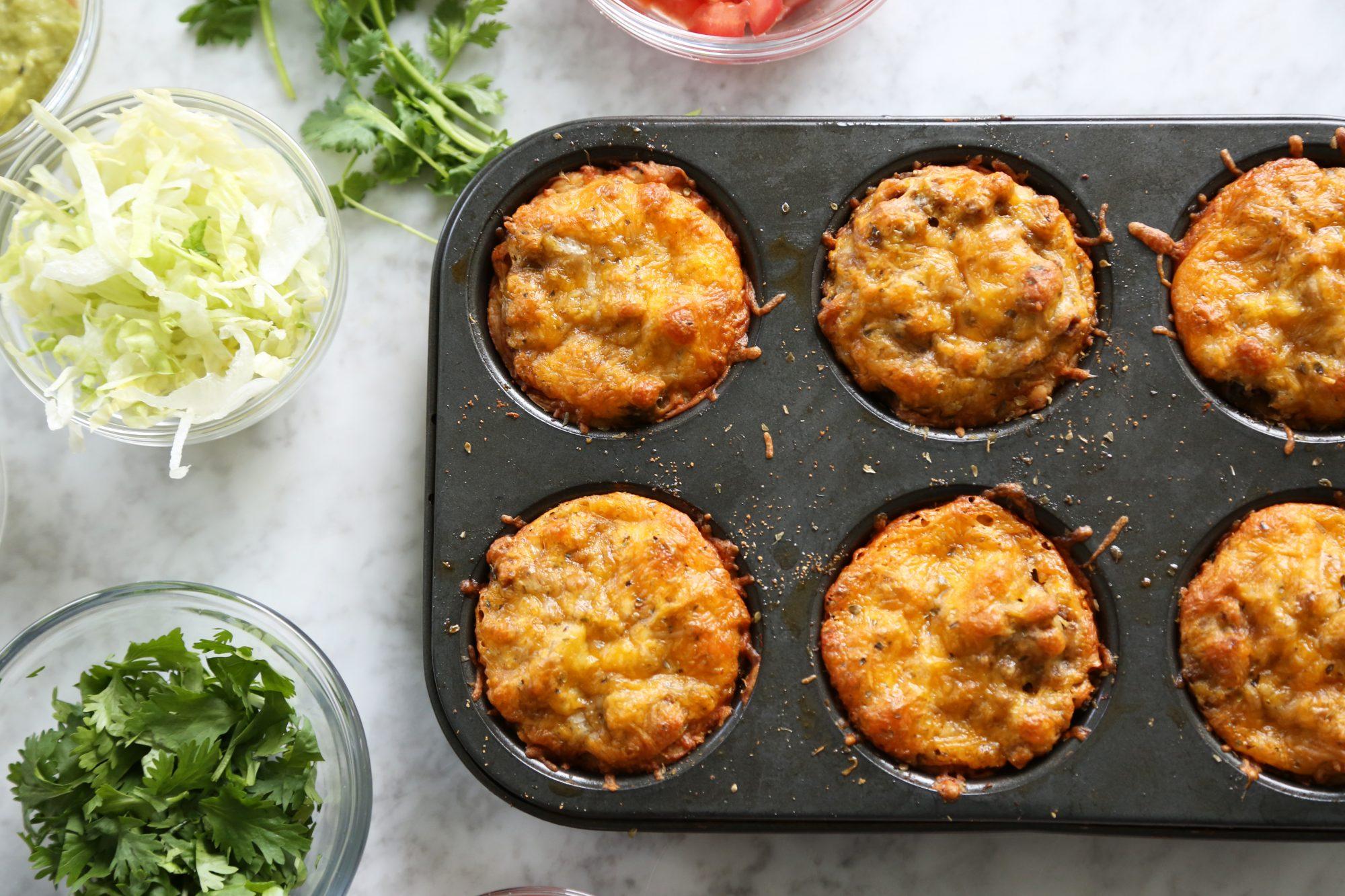 Cinco de Taco 'Muffins'
