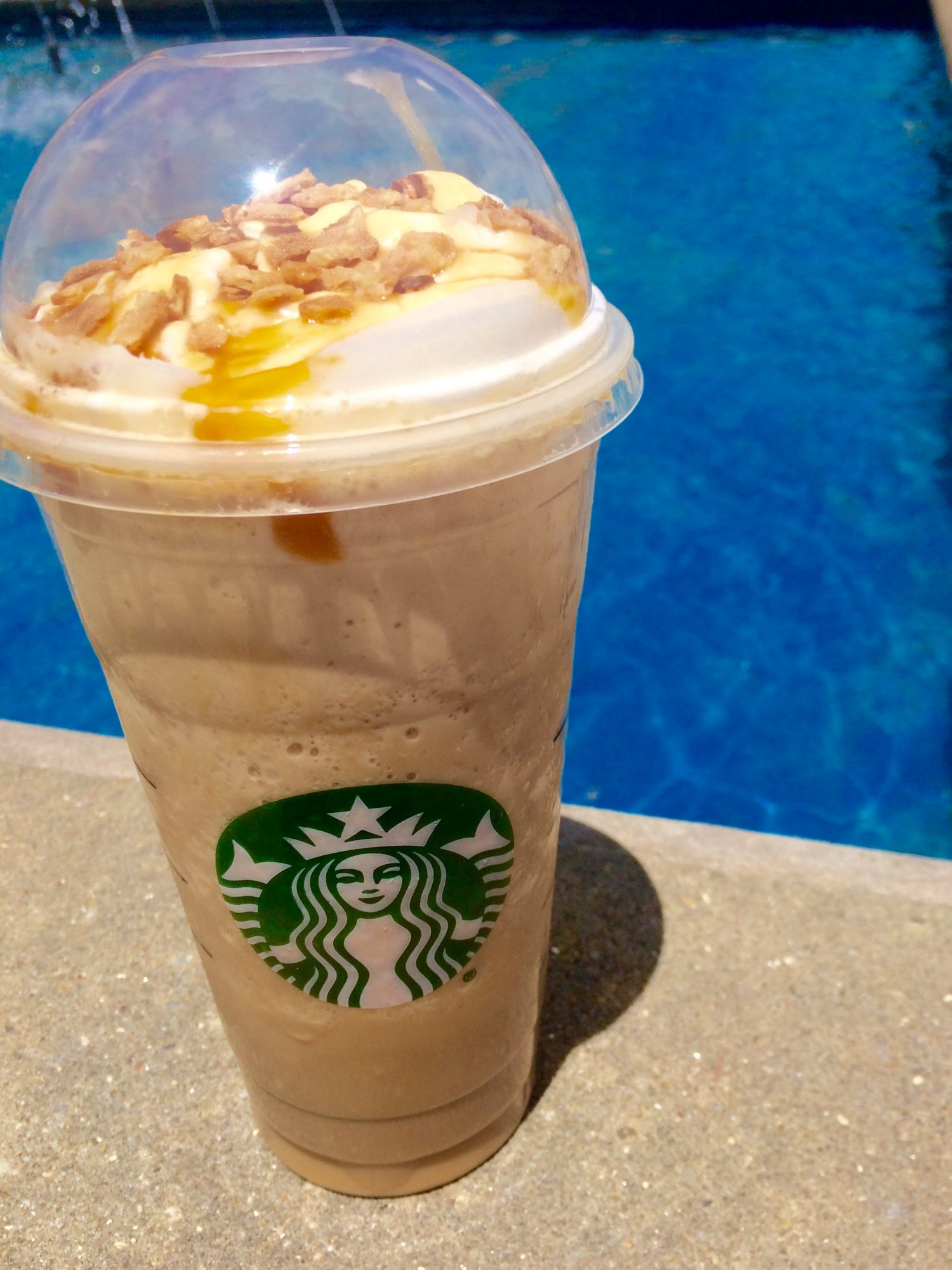 This Week's Debut of the New Starbucks Caramel Waffle Cone Frapp is Pretty Sweet! (Literally)