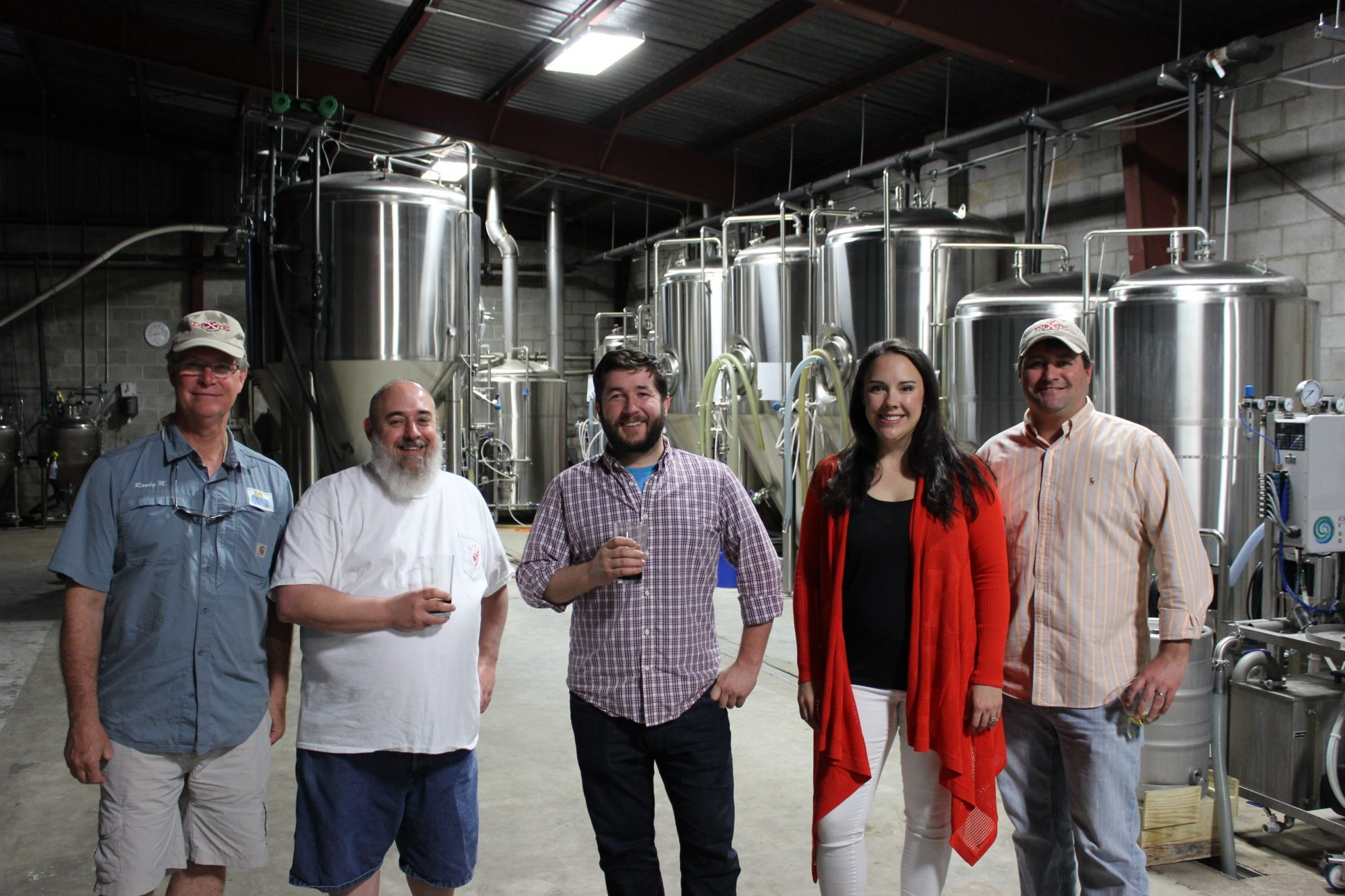 The folks of Singin' River Brewing Co.