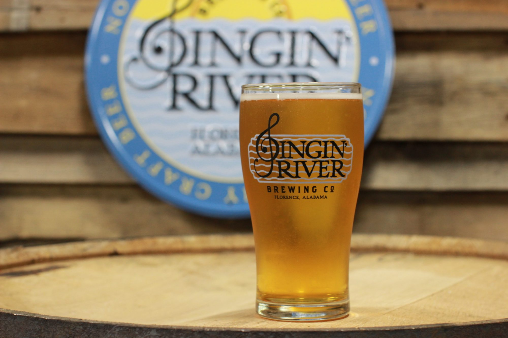 Singin' River offers an IPA, a Blonde, and a rich Porter, which was a favorite among our staff.