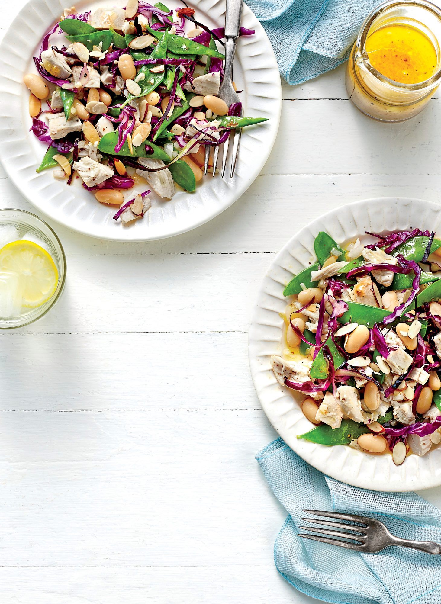 Chicken and White Bean Salad with Citrus Vinaigrette