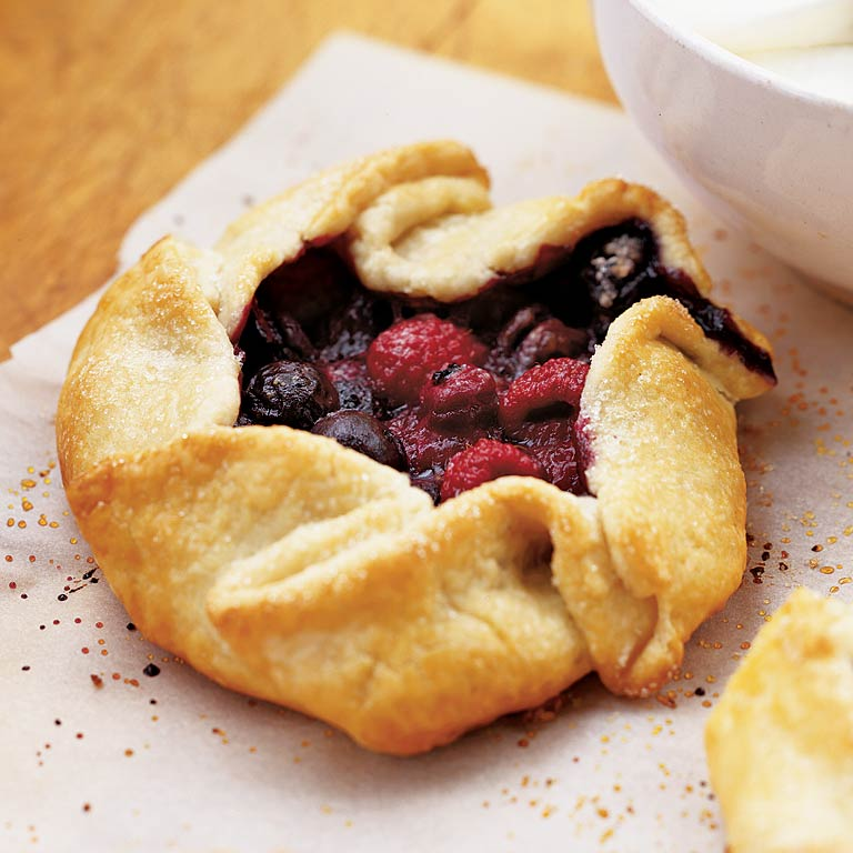 Rustic Berry Crostata