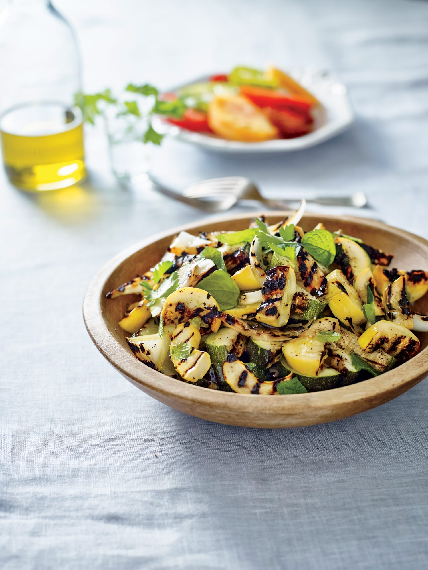 Charred Squash Salad