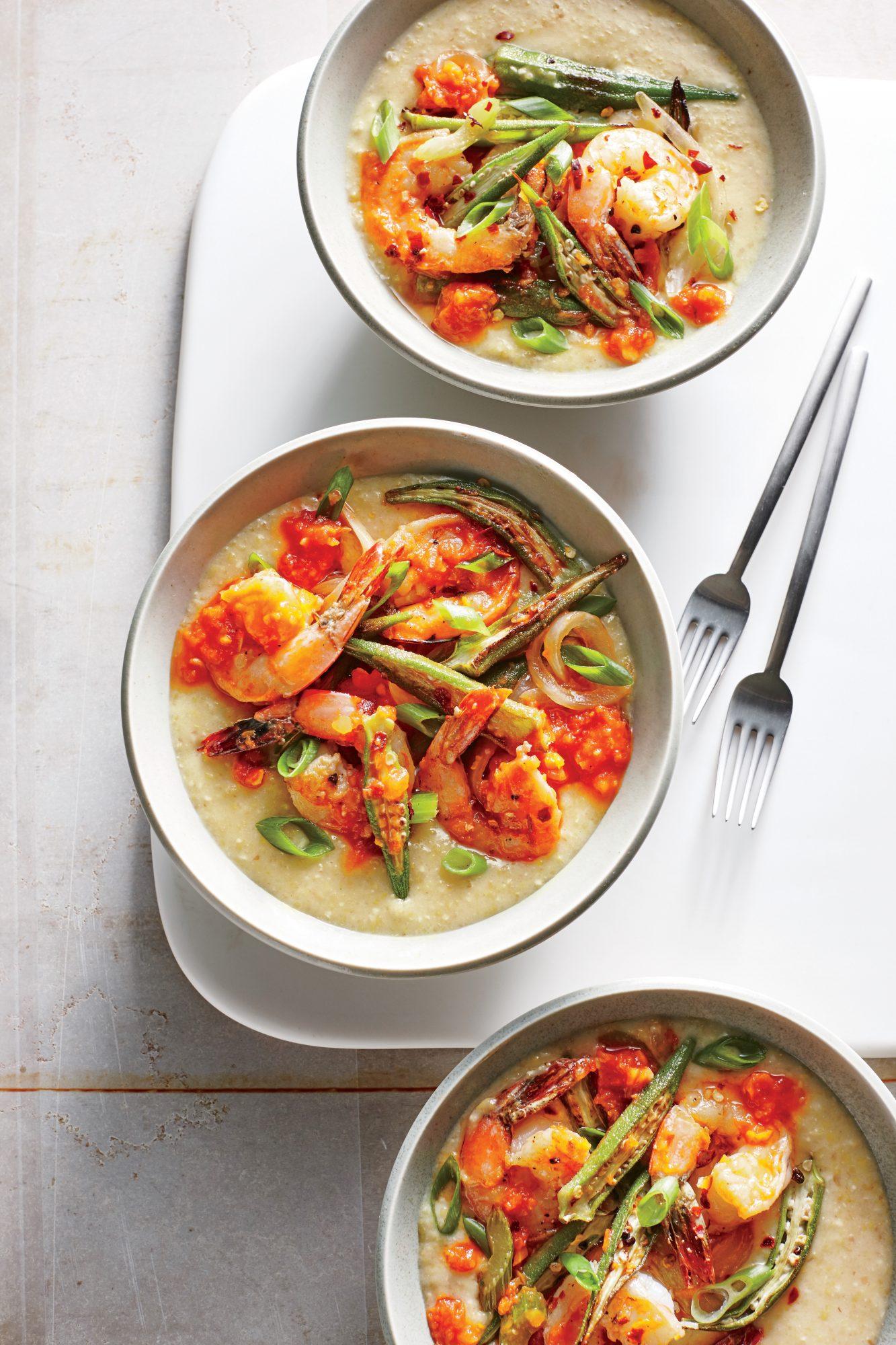 Creole Shrimp and Okra