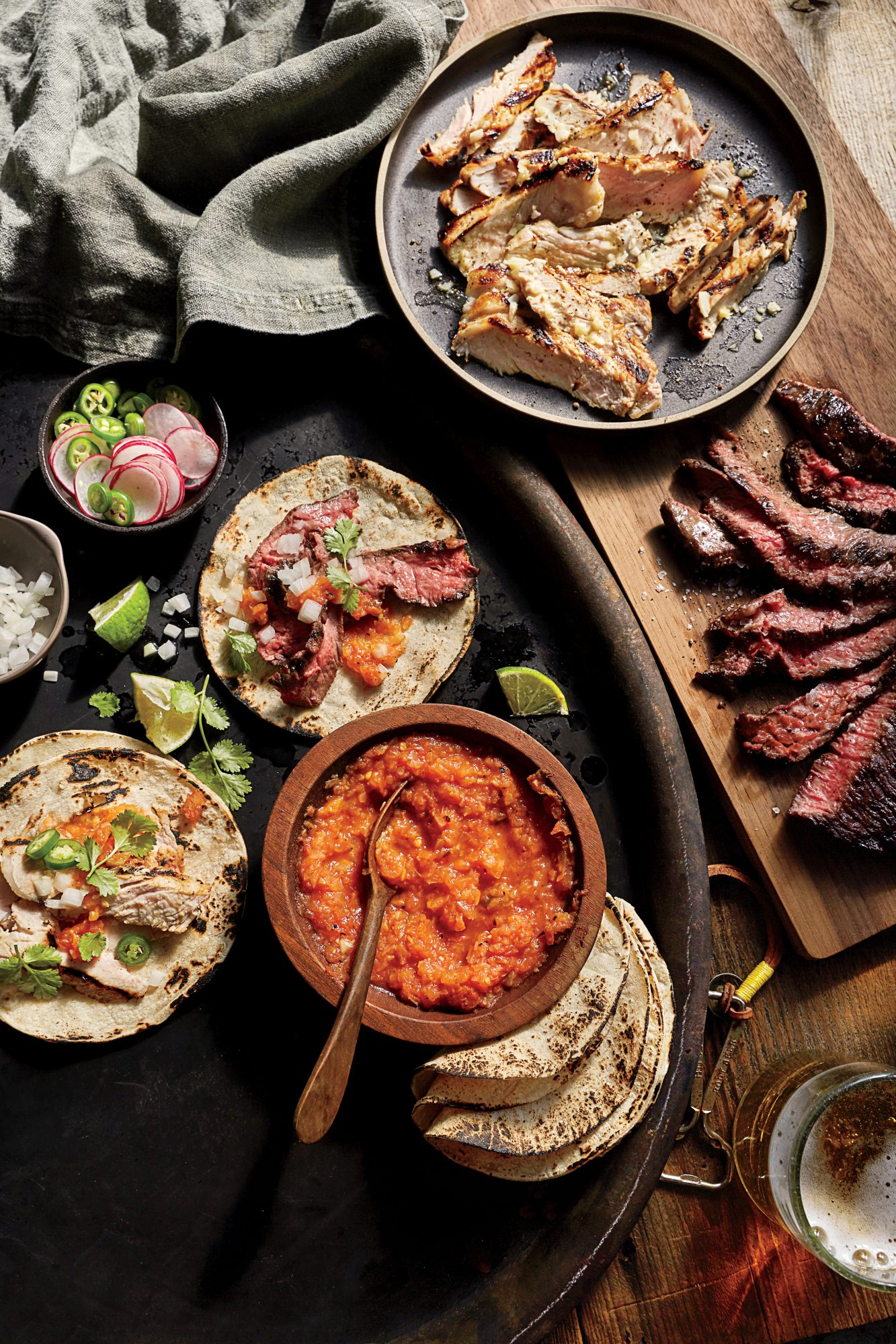 Monterrey-Style Skirt Steak