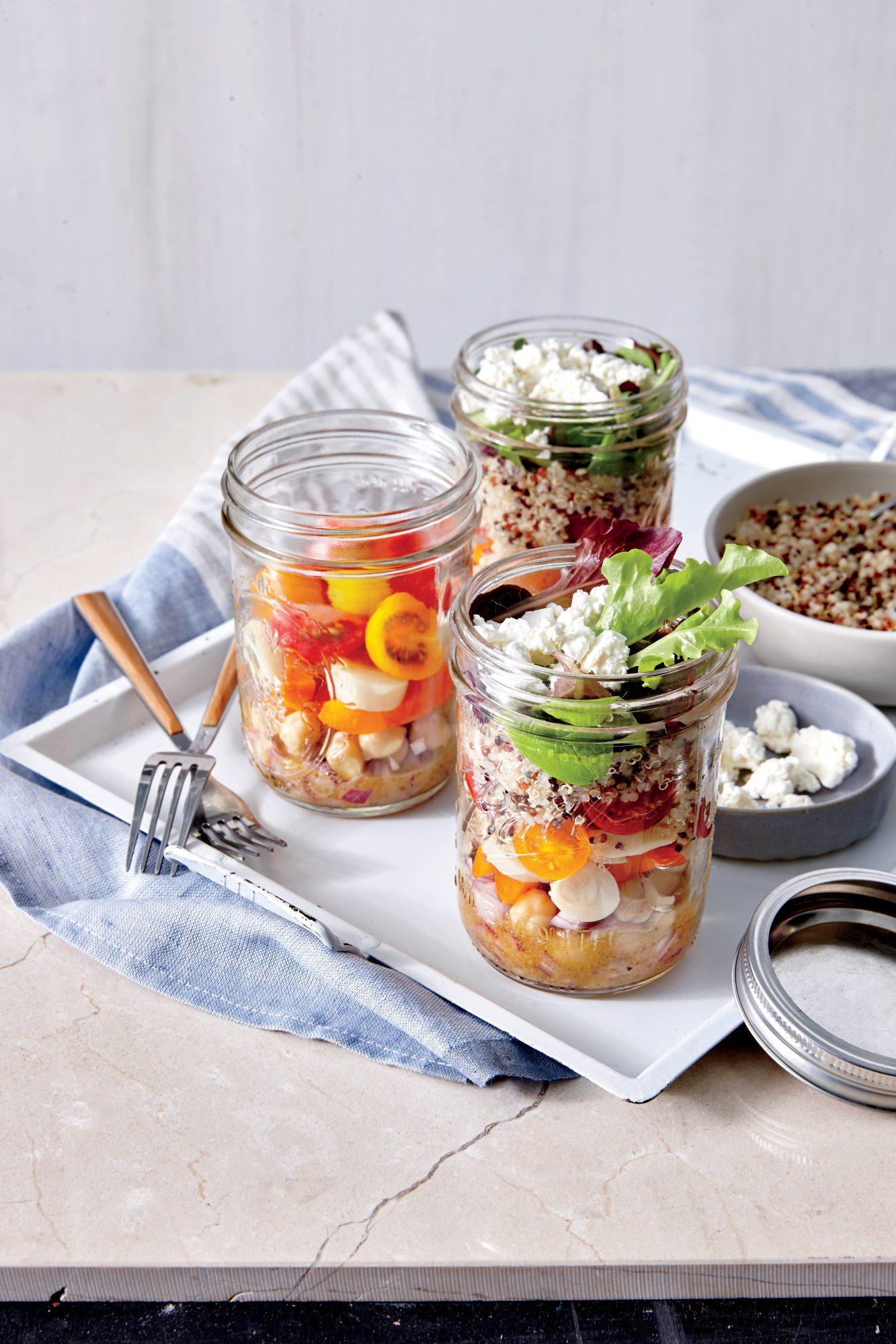 Veggie Salad in a Jar