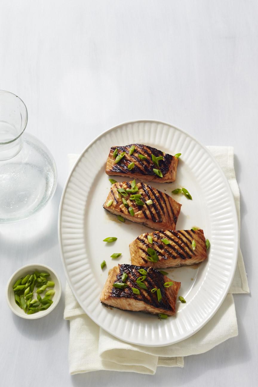 Vermouth-Marinated Salmon