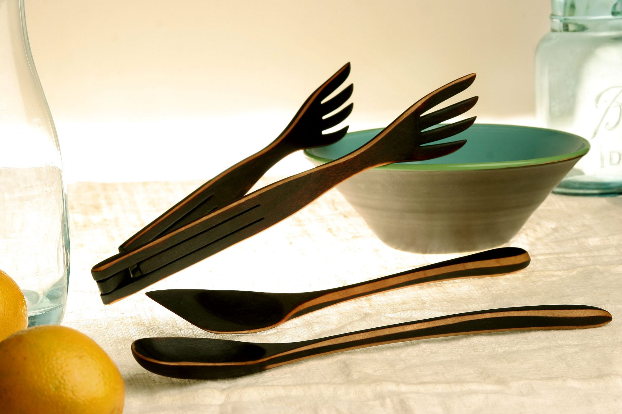 <p>Handcrafted Wooden Utensils</p>