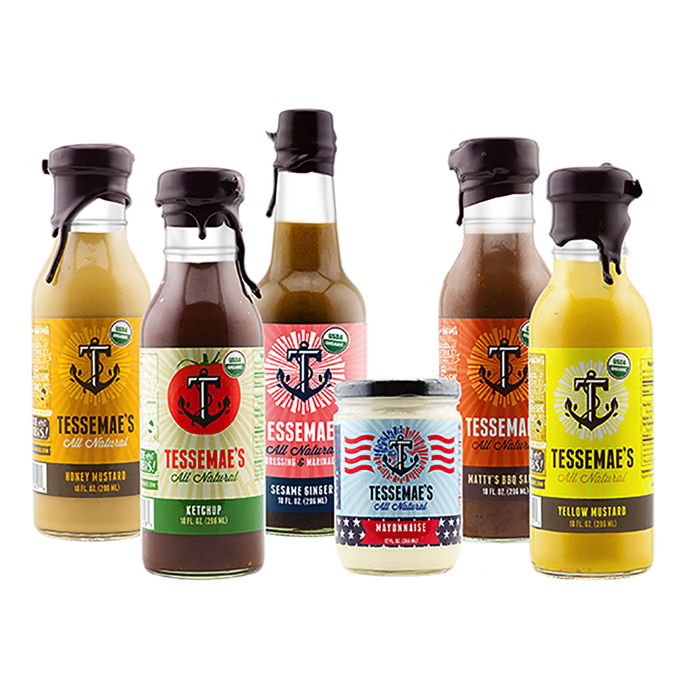 Tessemae's All Natural Organic Grilling Line