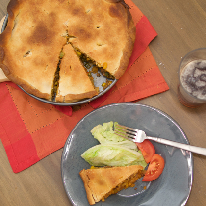 Try MyRecipes: Taco Pot Pie