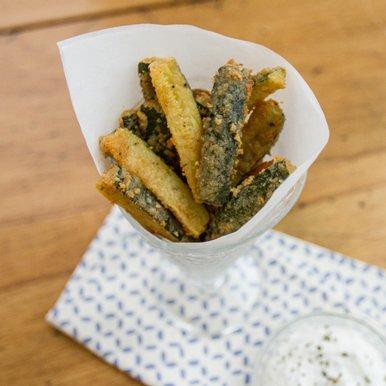 Cheerios™ - Baked Zucchini Sticks
