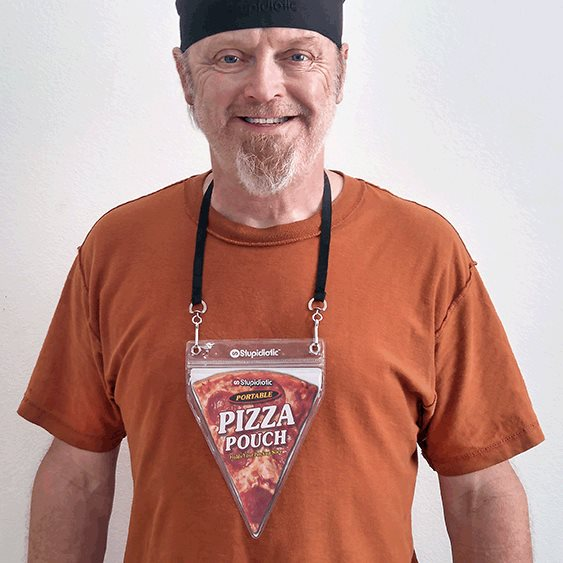 The Wearable Pizza Pouch Might Be the Worst (or Best) Father's Day Gift