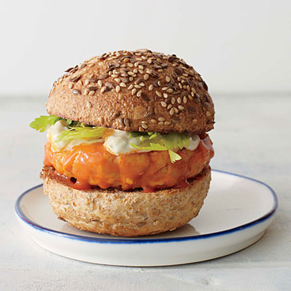 <p>Buffalo Chicken Sliders</p>