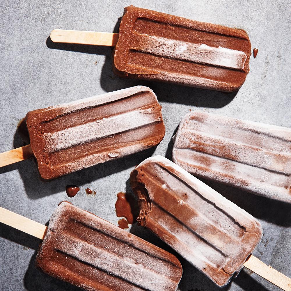 Fudgy Pudding Pops