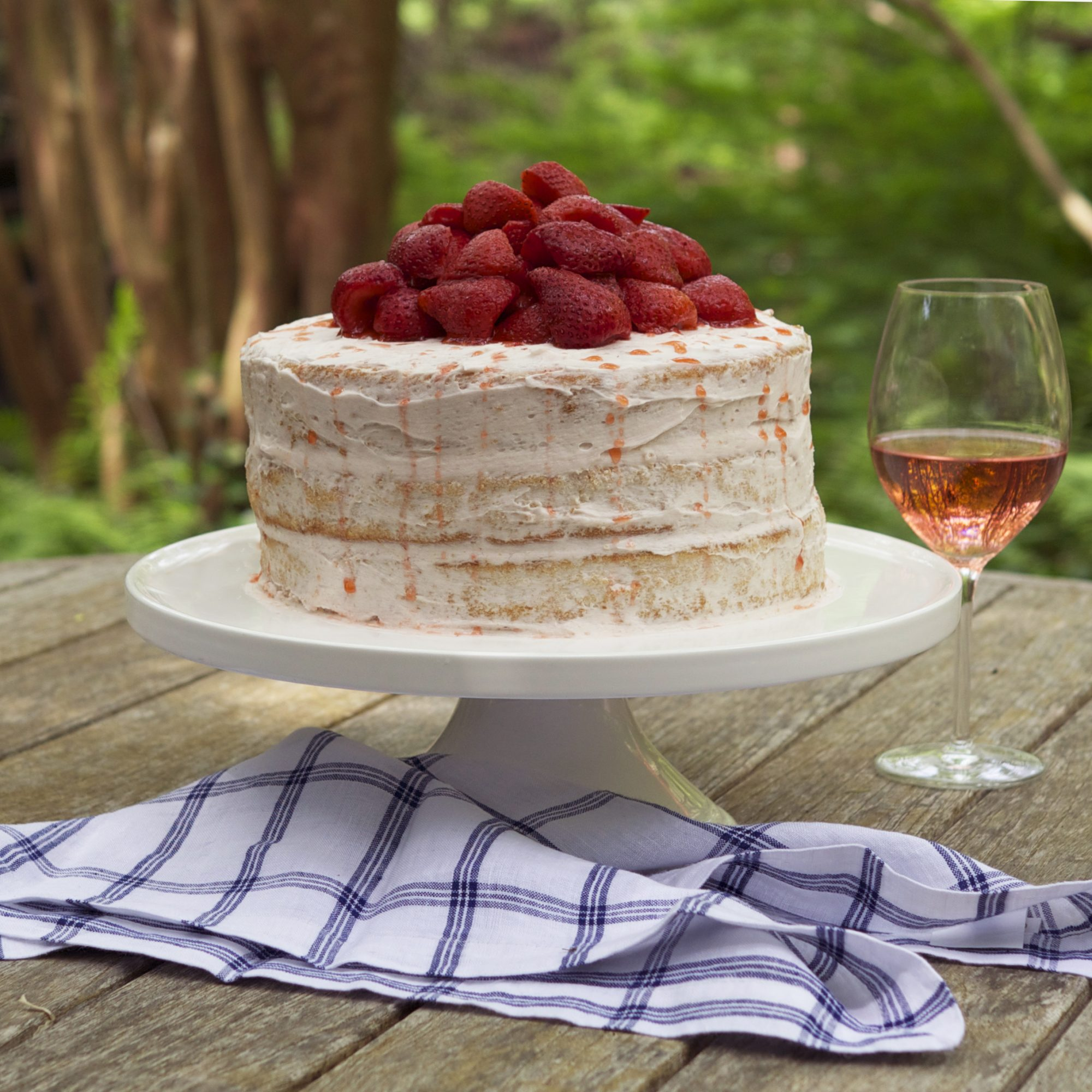 The Rosé All Day Cake Has Arrived