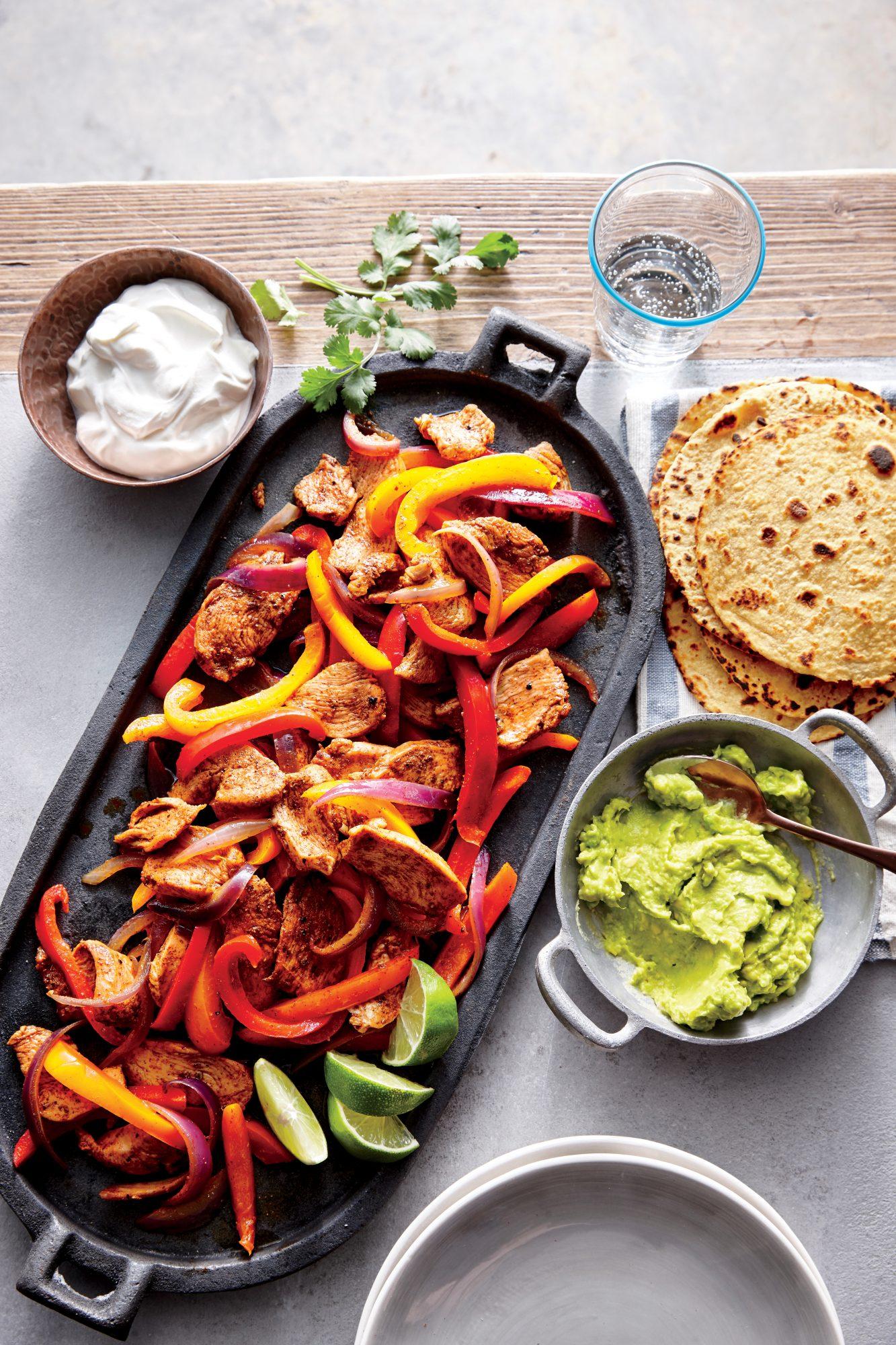 Quick Chicken Fajitas Recipe Myrecipes