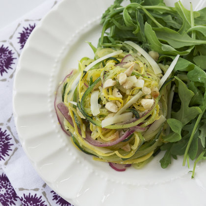 Why This Spiralized Summer Vegetable Salad is My (Current) Everything