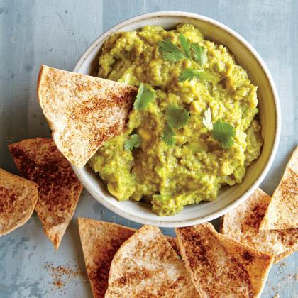sweet-pea-avocado-dip-baked-pita-chips-ck.jpg