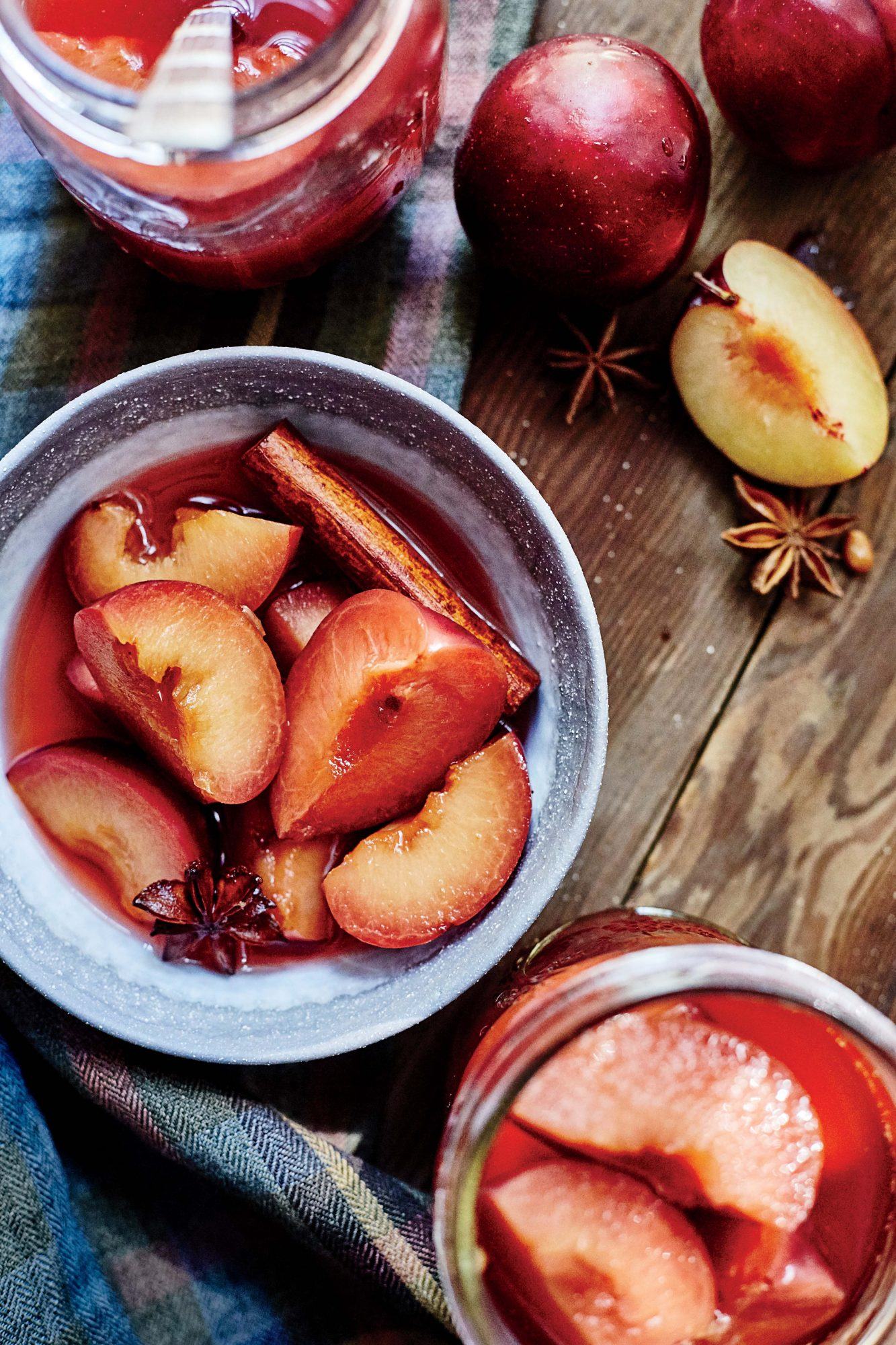 pickled plums image