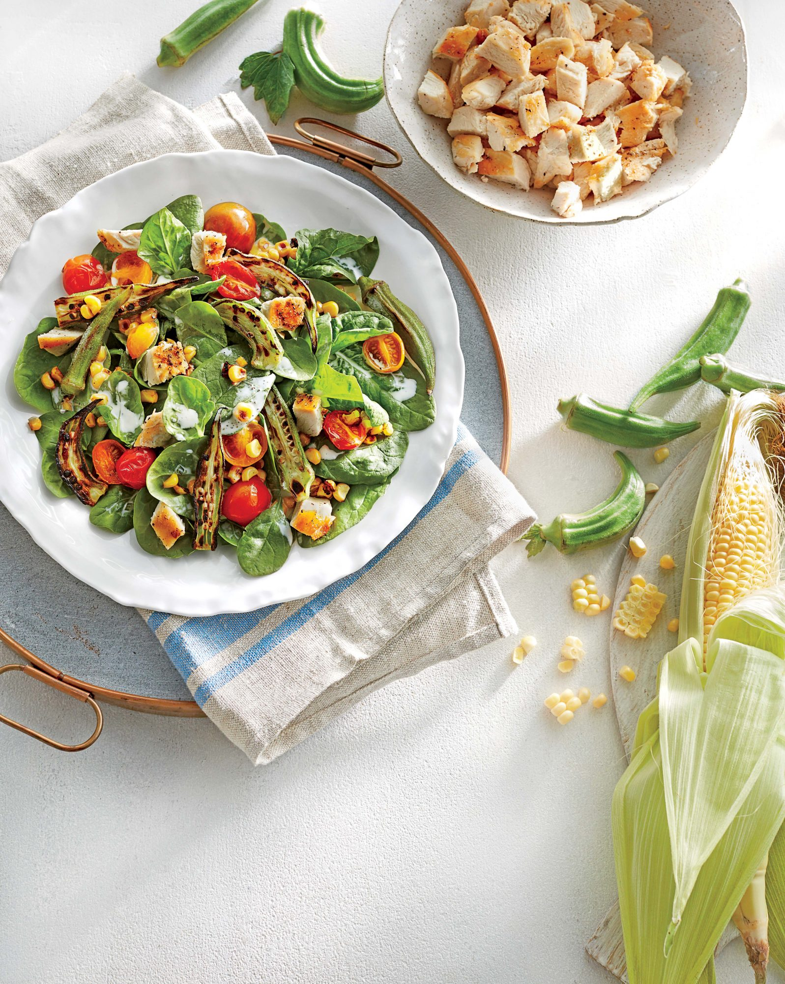 Charred Summer Vegetable Salad