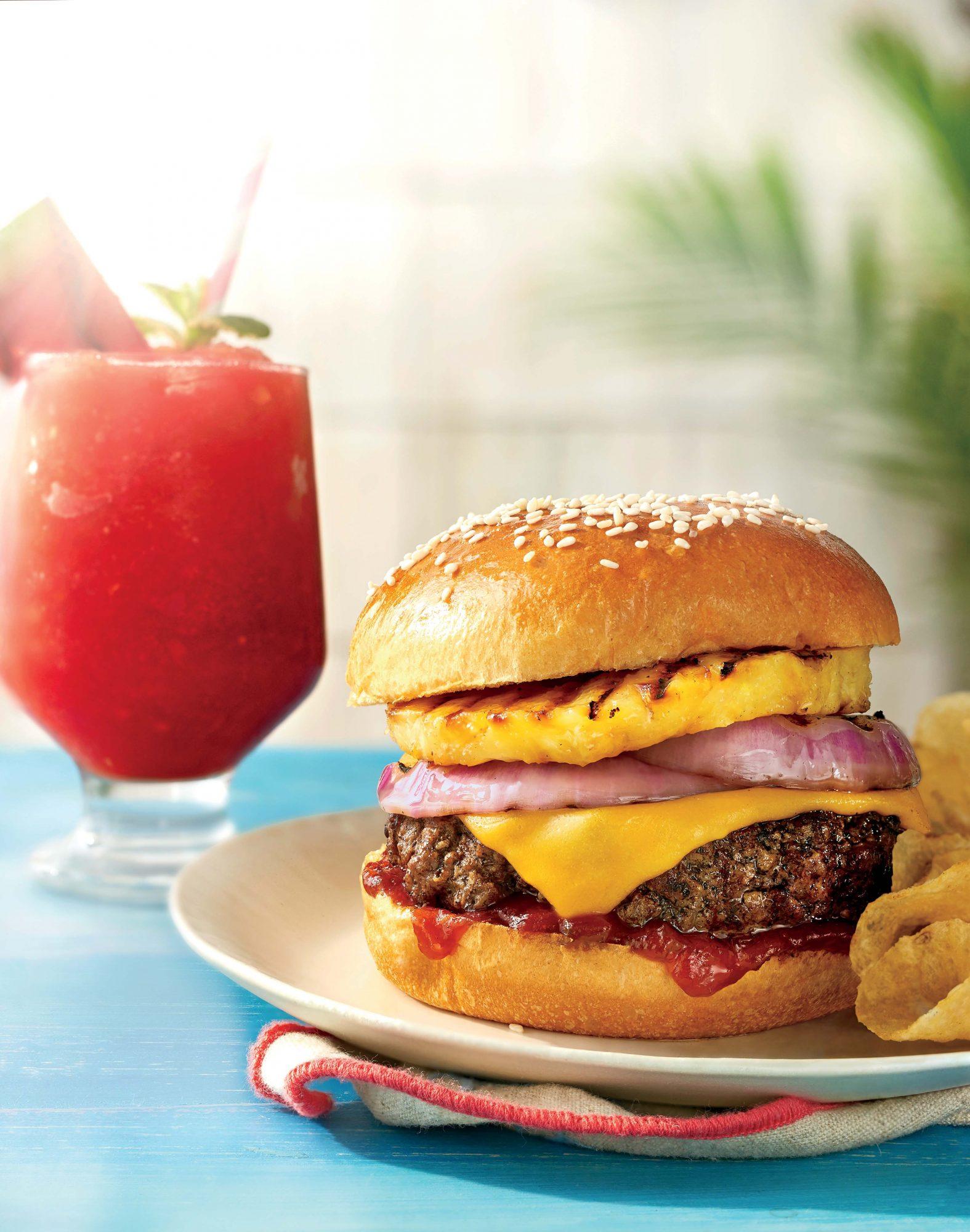 Beach BBQ Burger