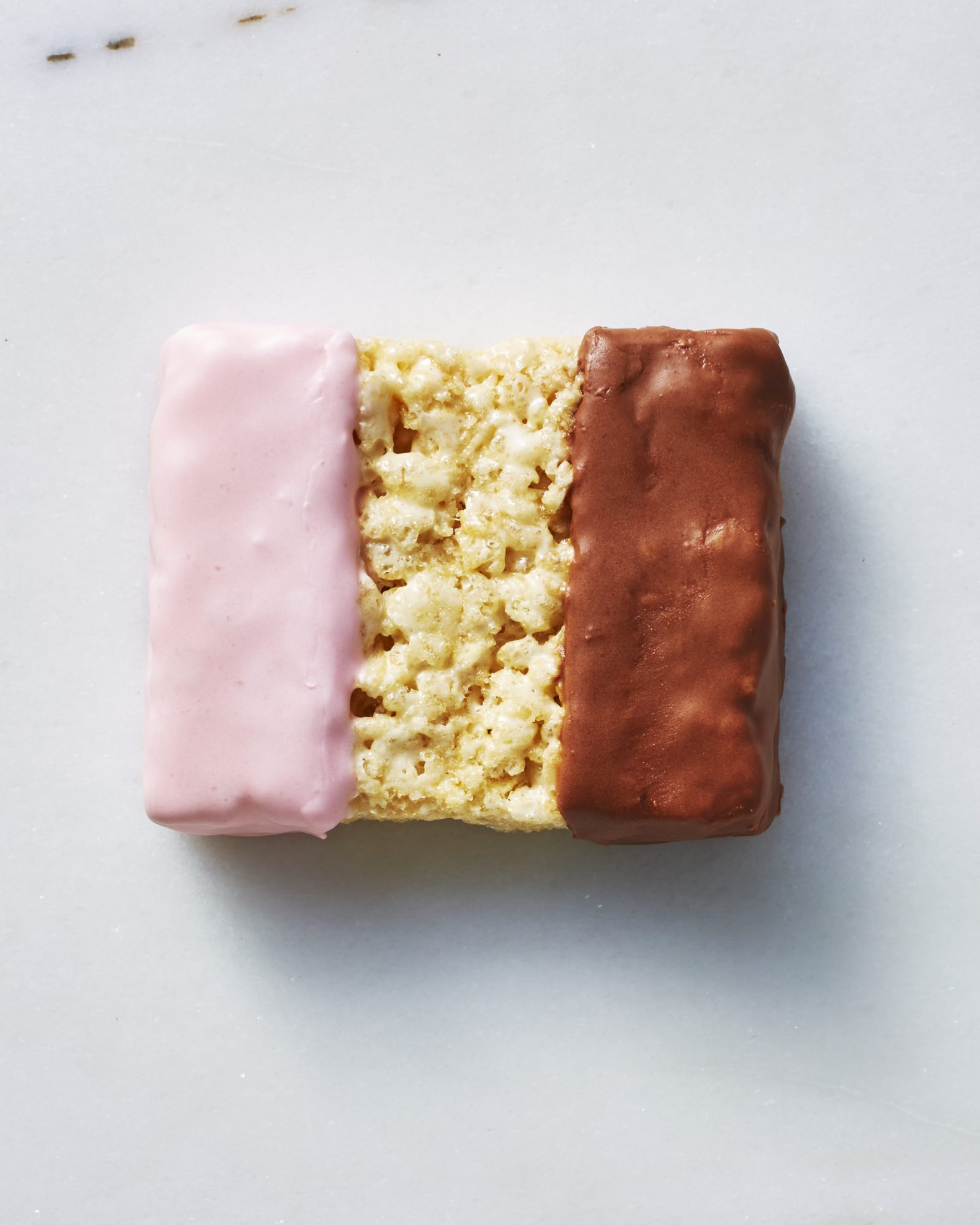 Neapolitan Crispy Rice Treats