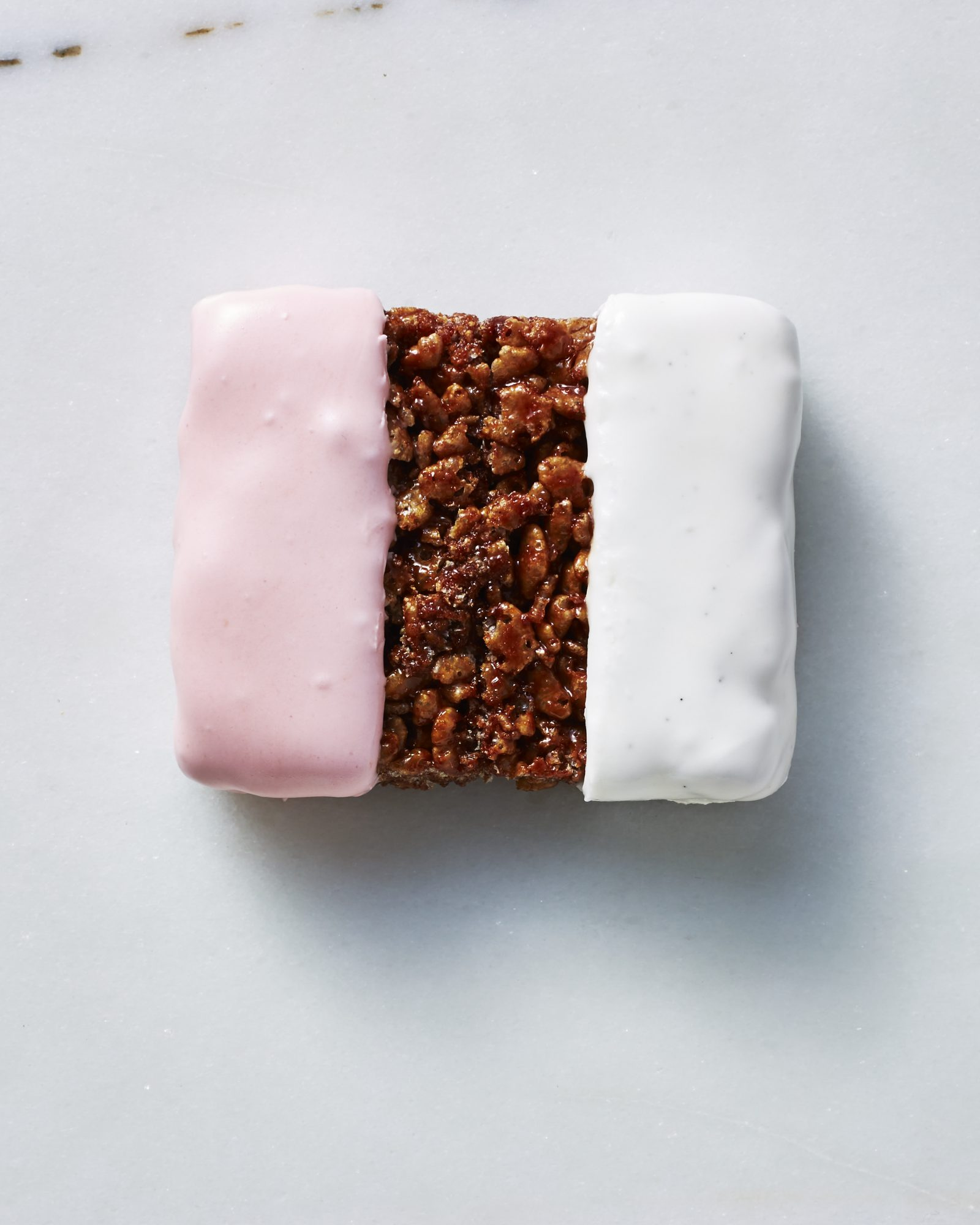 Neapolitan Chocolate Crispy Rice Treats