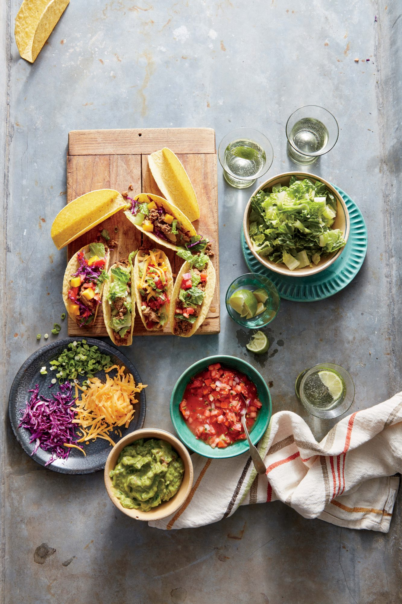 family-style taco night recipe | myrecipes