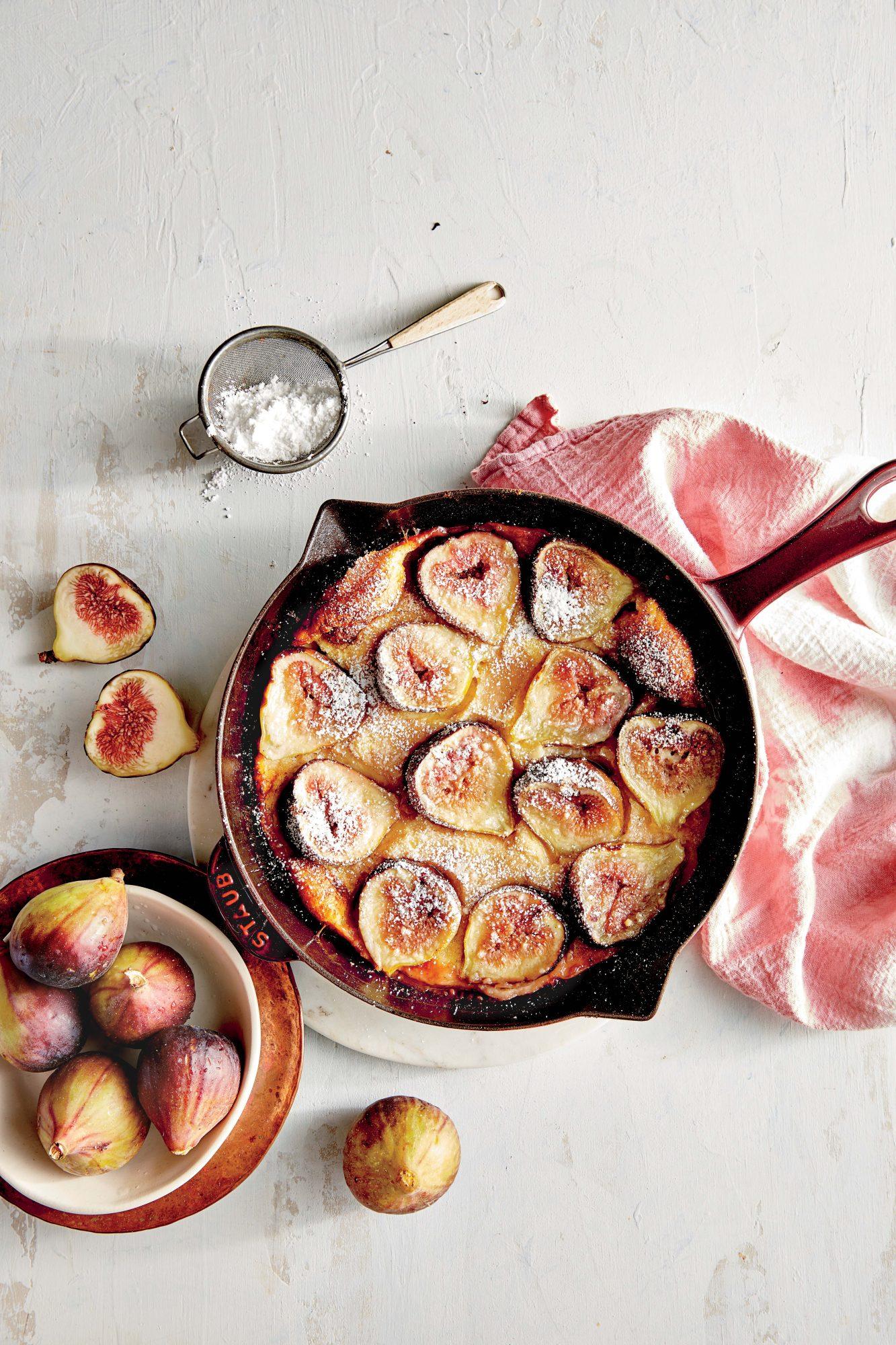 Fig Dutch Baby Pancake