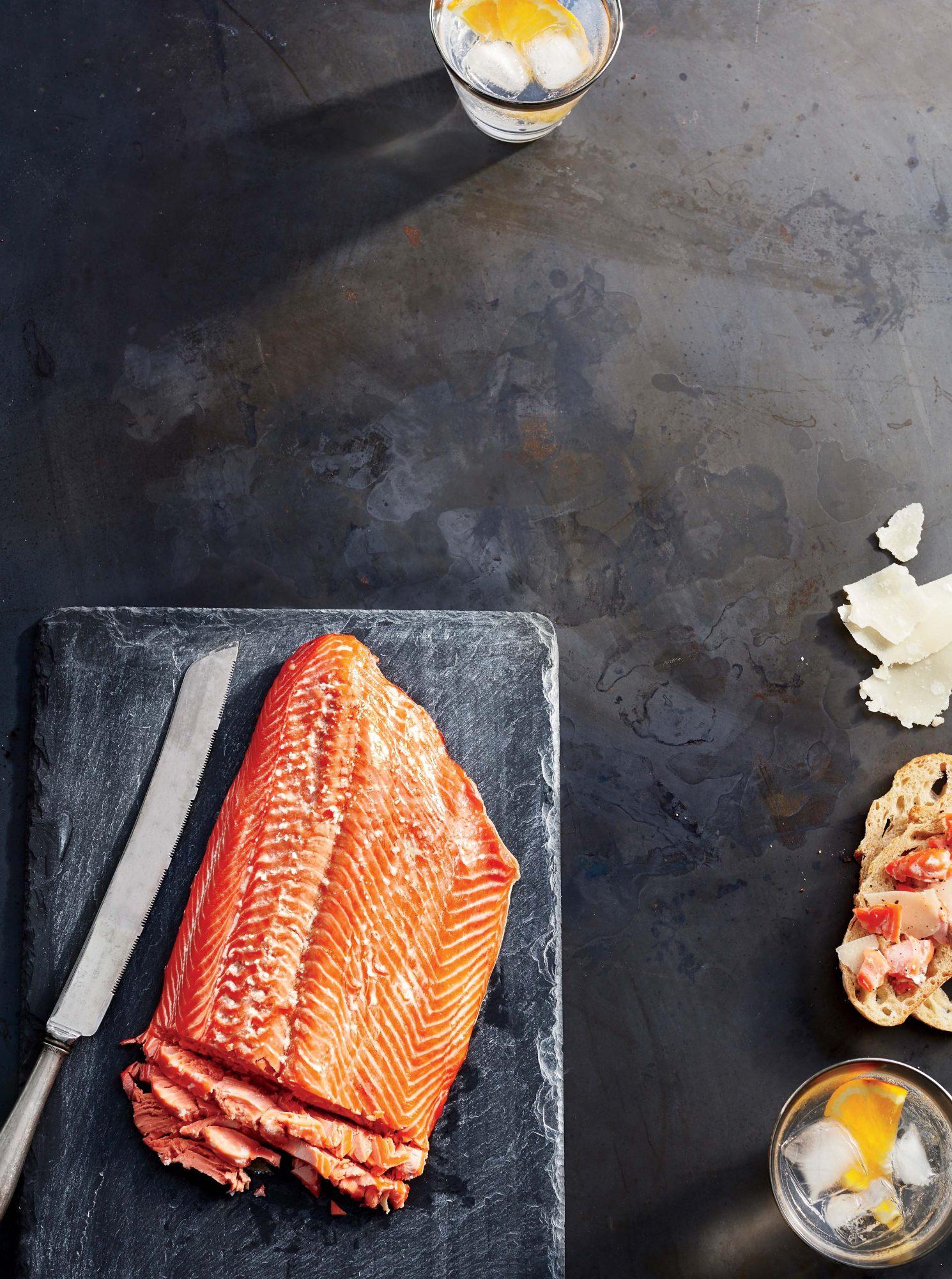 Hot-smoked Alaskan Sockeye Salmon