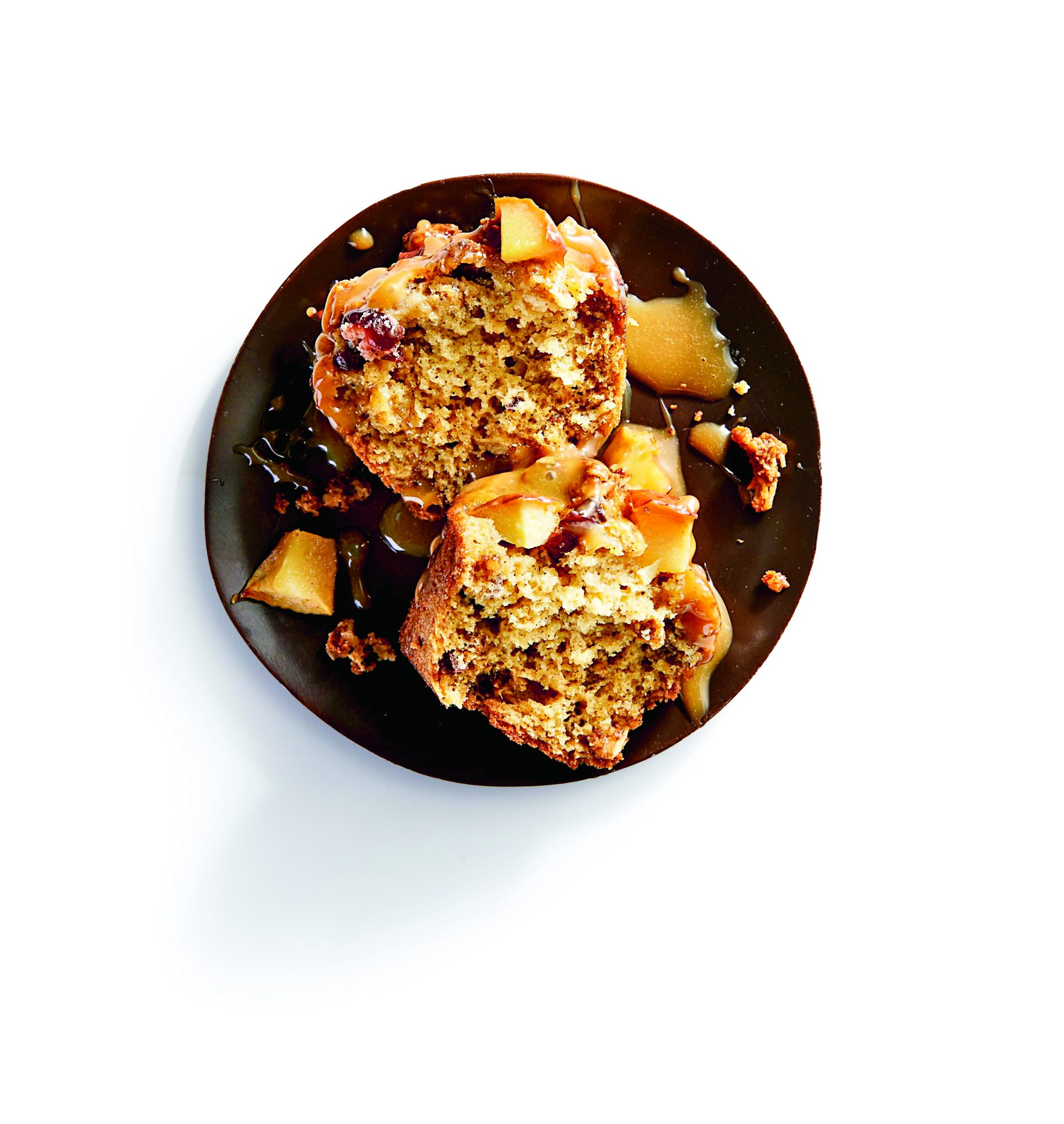 Cranberry-Apple Granola Muffins