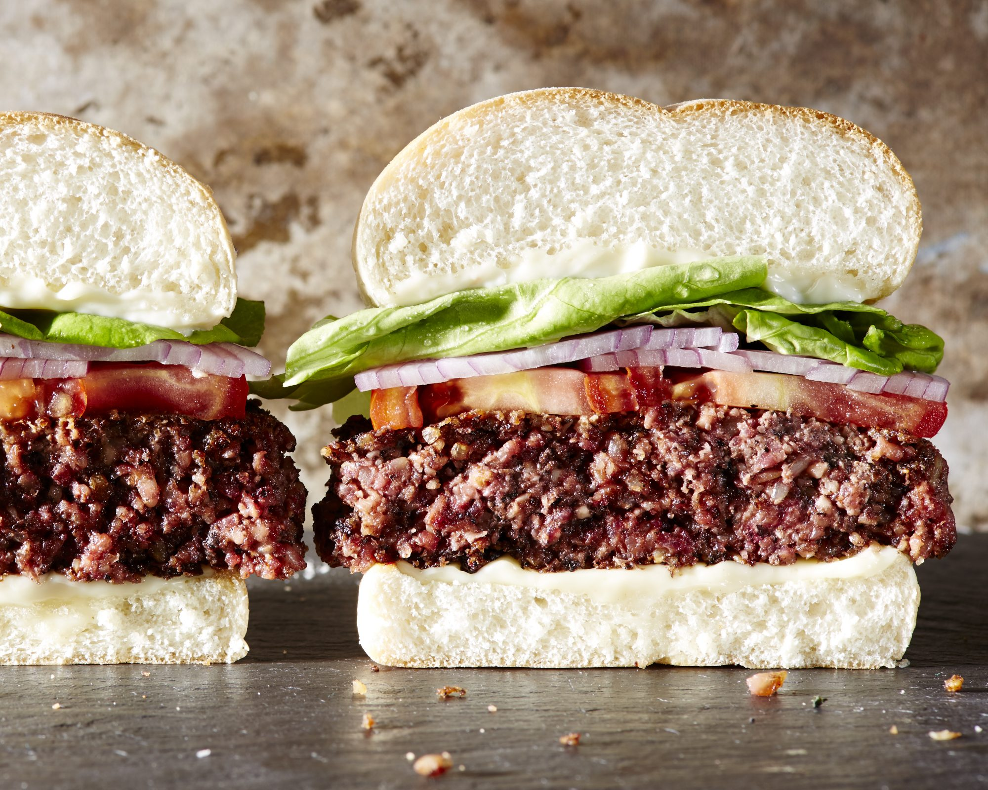 The Best  Beefy  Vegan Burgers