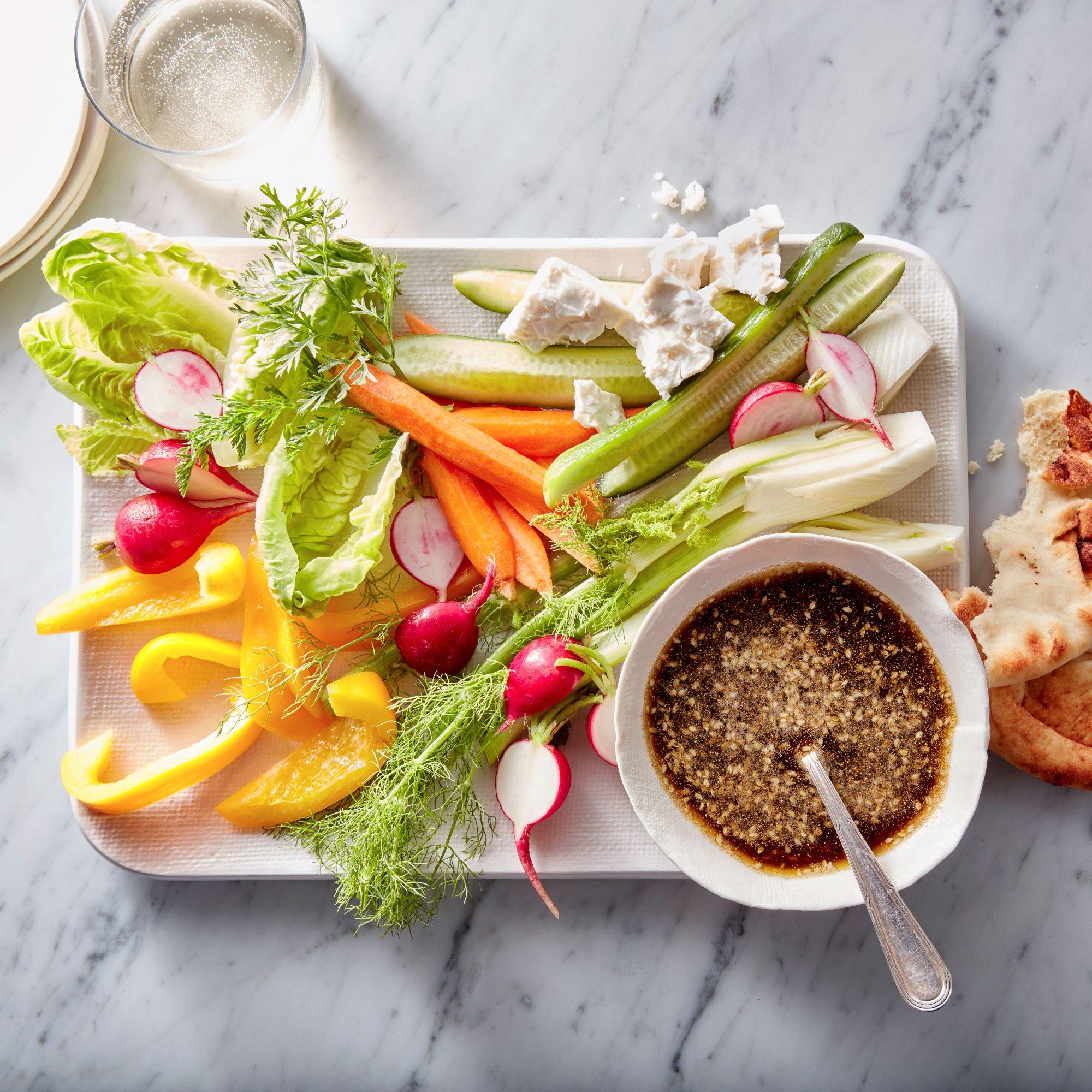 Vegetable Platter with Dukkah Oil image