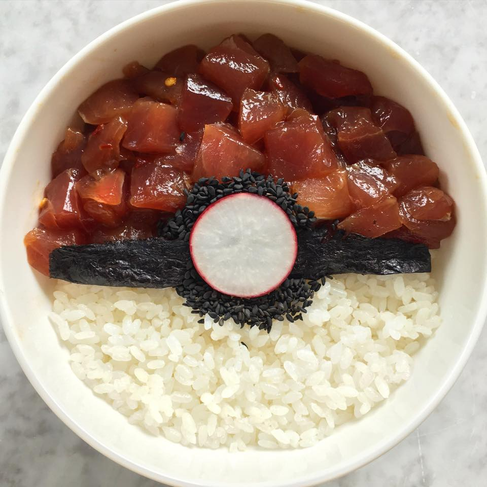 Pokéball Poke Bowl