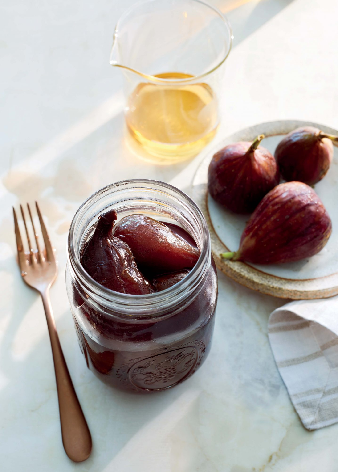 Brandied Preserved Figs