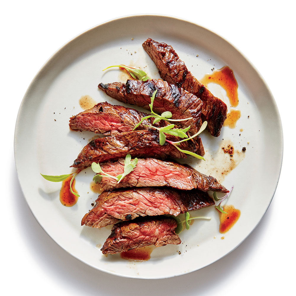 Grilled Flash-Marinated Skirt Steak
