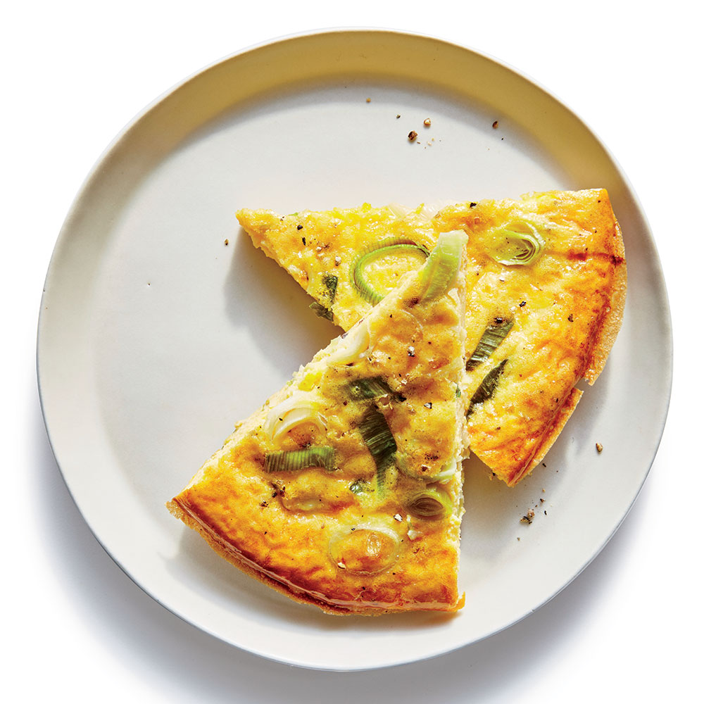 Simple Leek Frittata