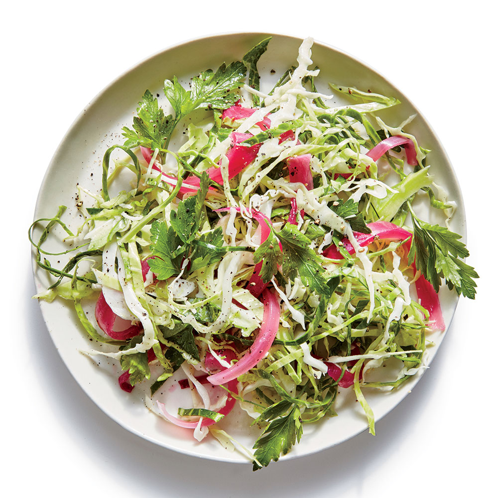 Pickled Onion Slaw