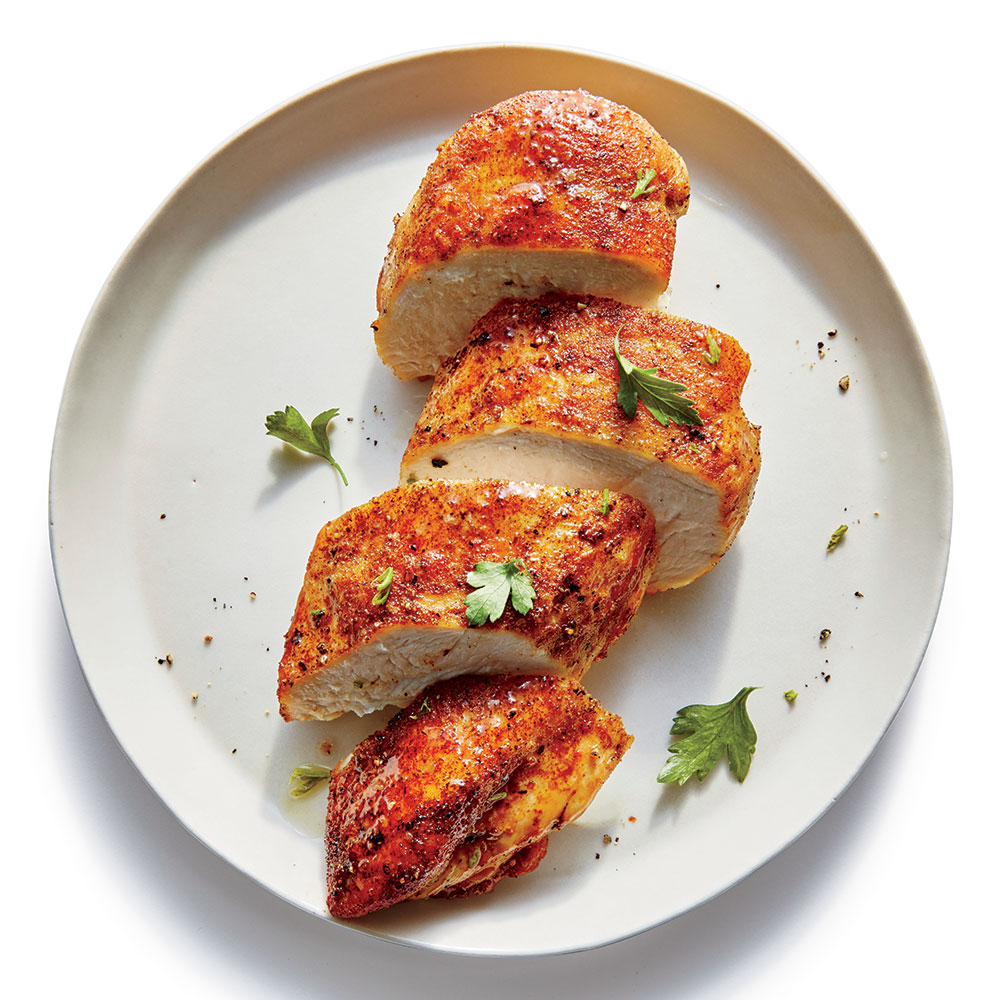 Smoky Pan-Seared Chicken Breasts