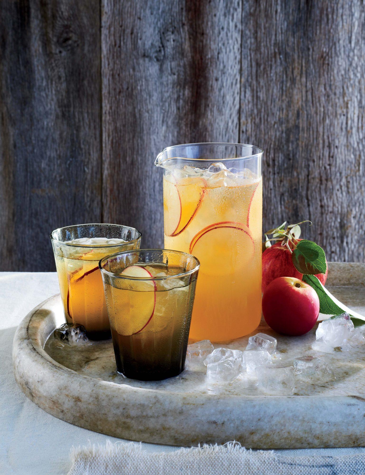 Honey Cider-Beer Cocktails