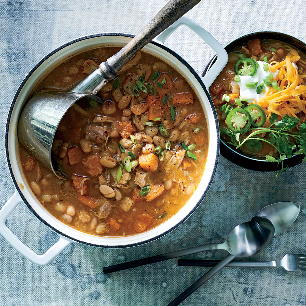 Slow Cooker Chicken Chili Recipe - Cooking Light