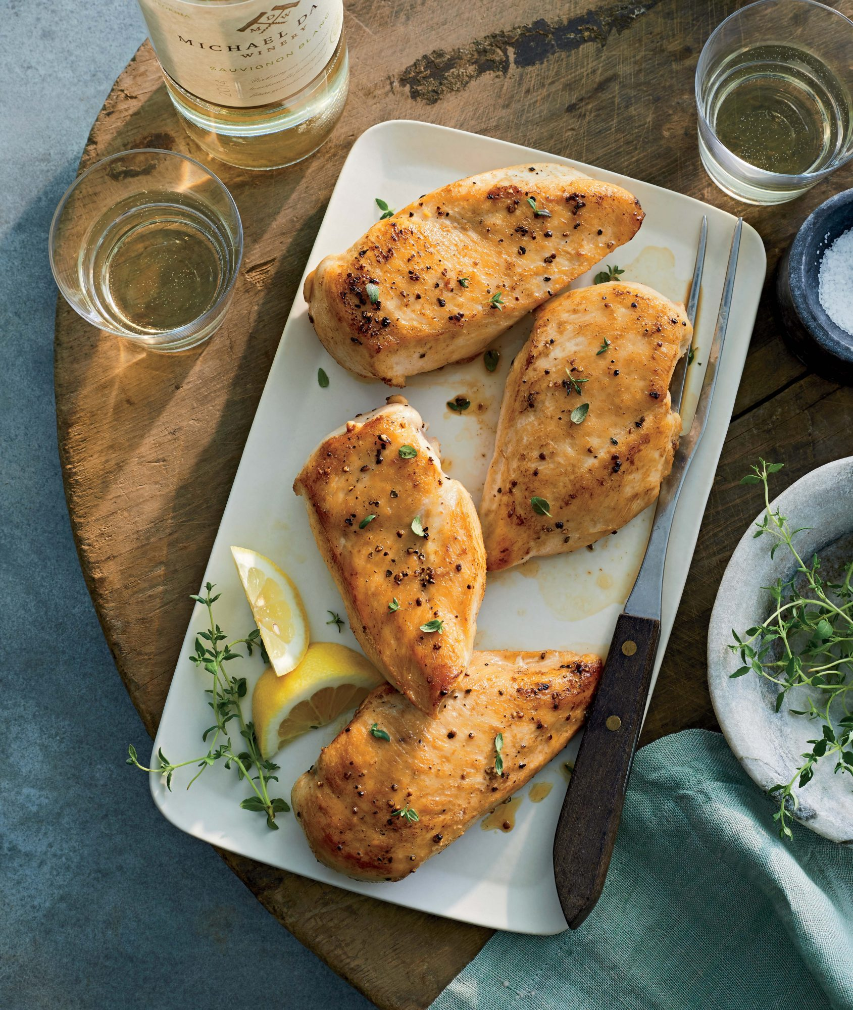 Perfect Pan-Seared Chicken Breasts Recipe